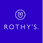 A white tulip above the word Rothy's