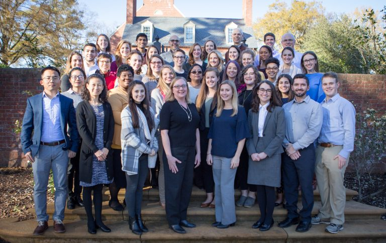 A team of over 40 researchers from the University of North Carolina (UNC) School of Medicine, where the Heroes Health app was designed. The team is diverse in gender identities, countries of origin, racial identities, and age. Members of the research team come from many backgrounds and unite for the common goal to improve healthcare outcomes for trauma survivors.