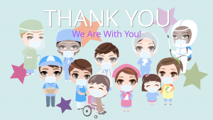 Thank You Healthcare Workers in Emoji People.